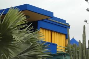 Yves Saint Laurent house -Marrakesch